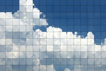Mosaic of clouds