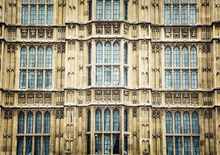 Windows of the Houses of Parliament