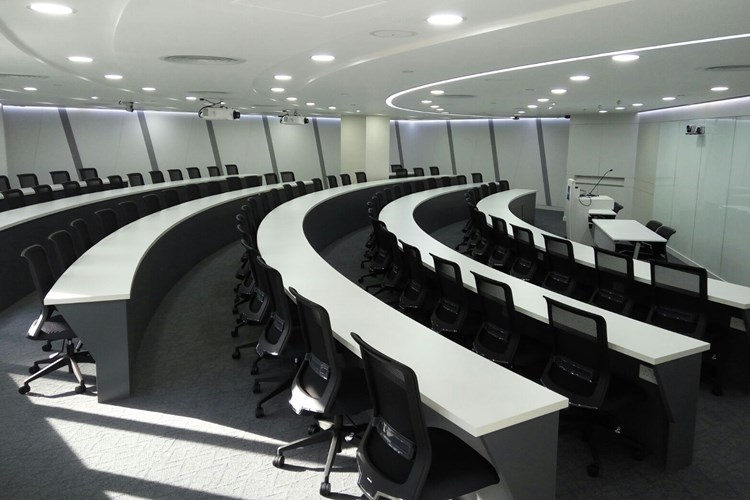 Modern lecture theatre at HKMA