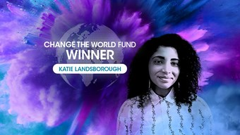 Change the World Fund Winner Katie Landsborough