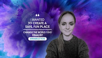 Change the World Finalist: Annabelle Rose