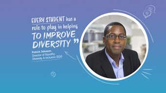 ULaw Director of Equality, Diversity & Inclusion Patrick Johnson